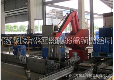 供应北方灌装ZGX全自动液体定重式码垛机器人