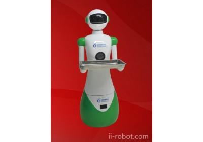 盘锦餐厅送餐机器人、迎宾机器人、传菜机器人厂家直销信誉保证