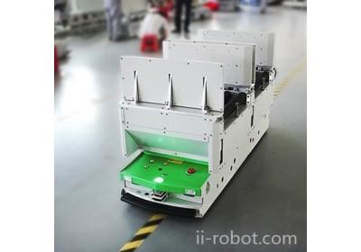 北京背负滚筒式AGV小车|AGV搬运机器人|南昌艾克威尔