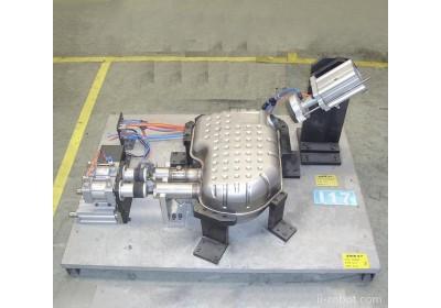 消音器总成 不锈钢多套奔驰和宝马消音器总成气密性检测设备