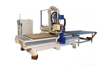 供应奥硕数控开料机 伺服电机木工加工中心 数控木工雕刻机圆盘自动换