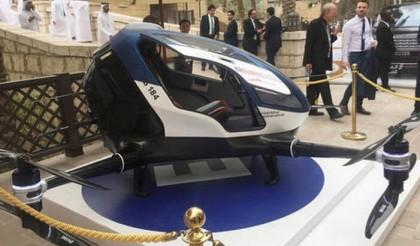 """迪拜要用亿航184做""""无人机的士"""",预计今年7月投入运营 (2)"""