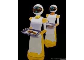 机器人餐厅加盟,智能设备,代替人工,不需要服务员,智能机器人