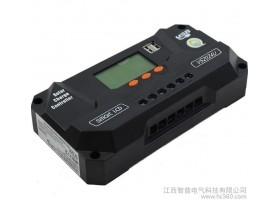 20A太阳能智能控制器 12V/24V自动识别 LCD显示屏