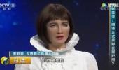 全球首位机器人公民,接受央视采访,惊艳全场! (119播放)