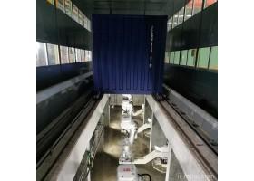 清研同创 干货集装箱机器人喷涂生产线   喷涂机器人系统 机电产品喷涂 厂家直销