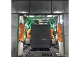 清研同创 集装箱干箱机器人喷涂、喷砂生产线 自动化机器人系统   自动化喷涂生产线 价格面议