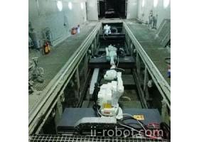 清研同创  冷柜集装箱机器人喷涂/涂装生产线  价格面议  机器人喷涂系统