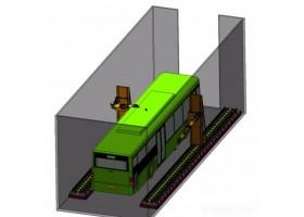 清研同创  机器人系统 自动化生产线  大巴车喷涂机器人系统 价格面议 机器人喷涂系统